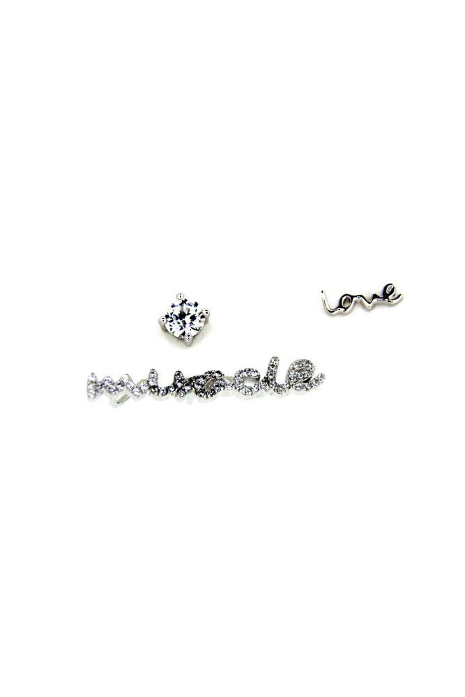 Love Miracle Silver Earring