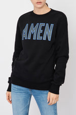 AMEN Crewneck Printed Sweatshirt