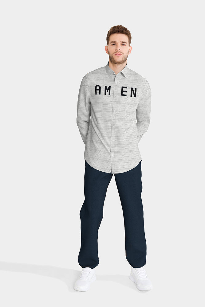 AMEN Embroidered Shirt