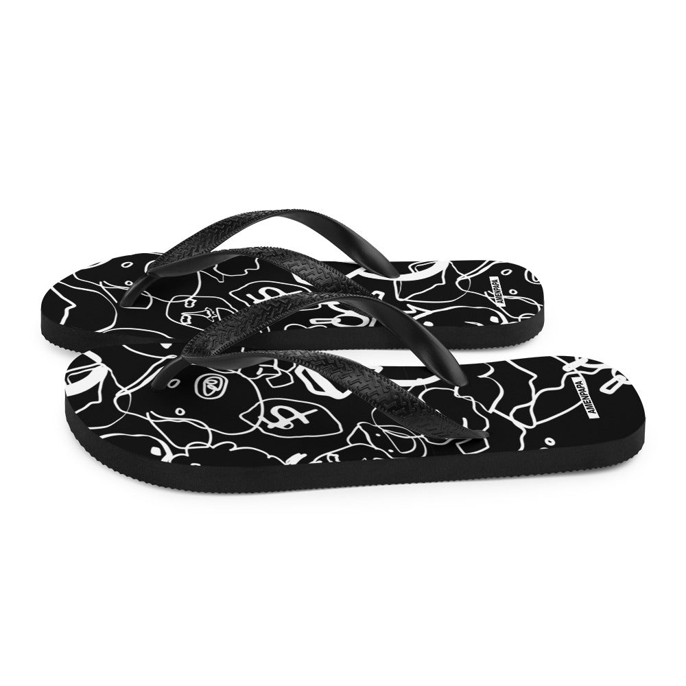 Prodigal Son BW Flip-Flops - AMENPAPA Fashion