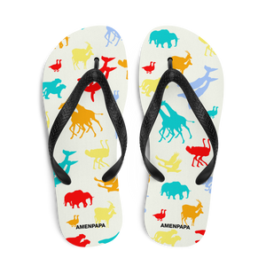Noah's Ark Flip-Flops - AMENPAPA Fashion