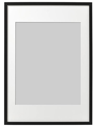 ribba black wooden frame in different sizes