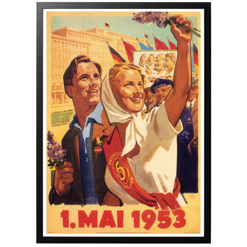 1. Mai 1953 Poster - World War Era
