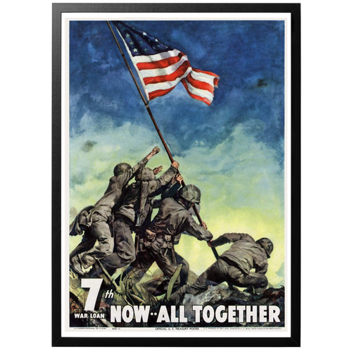 7th War Loan Poster - World War Era