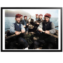 Load image into Gallery viewer, Faroese Fishermen Poster - World War Era