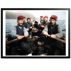 Faroese Fishermen Poster - World War Era