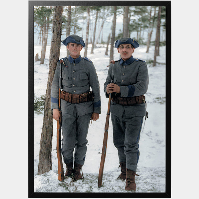 Swedish soldiers Gotland poster - World War Era