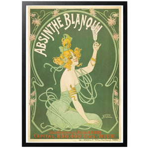 Absinthe Blanqui Poster - World War Era