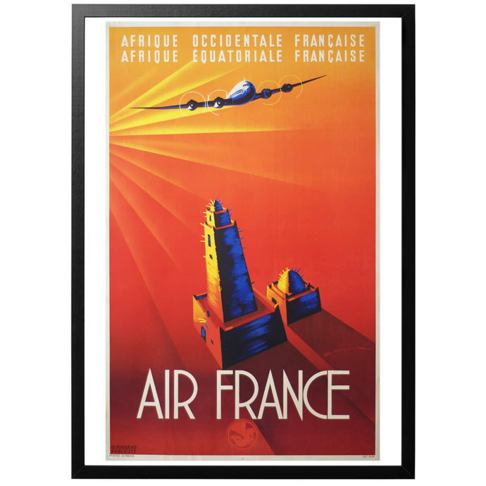 Air France Poster - World War Era