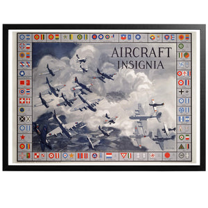 Aircraft Insignia - Aircraft Poster - World War Era