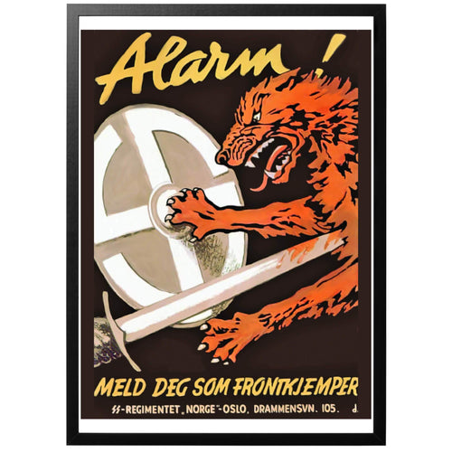 Alarm! Poster - World War Era
