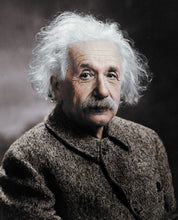 Load image into Gallery viewer, Albert Einstein Photography Colourized without frame
