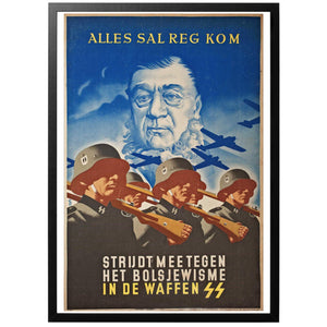 Alles Seg Reg Kom Poster - World War Era