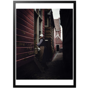 Alley in Northern Europe Poster - World War Era