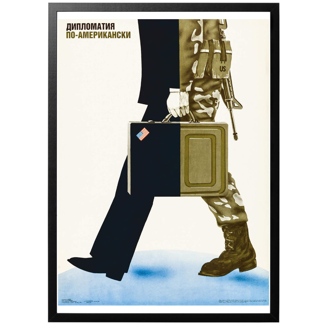 American Diplomacy Poster - World War Era