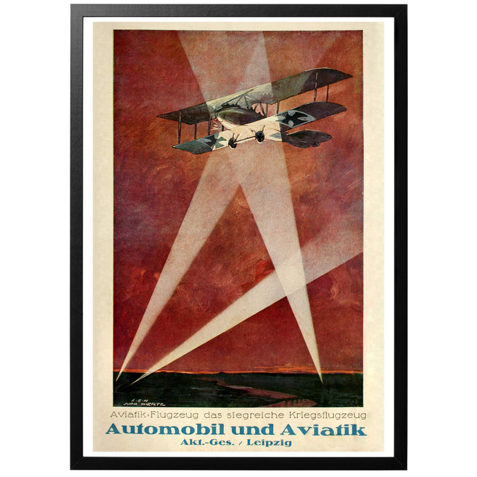 Aviatik Aircraft, the victorious war airplane Poster - World War Era