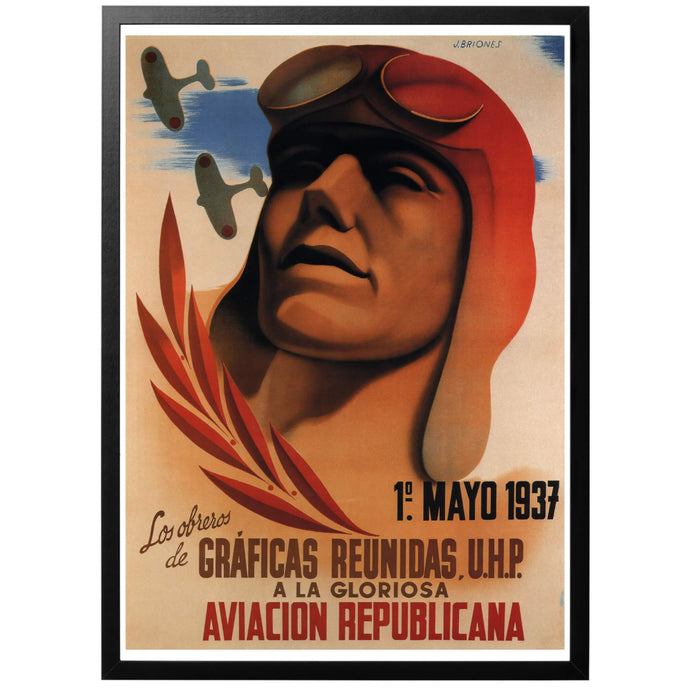 Aviacion Republicana Poster - World War Era