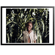 Load image into Gallery viewer, Young boy in the corn Poster - World War Era