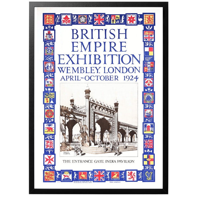 British Empire Exhibition 1924 Poster - World War Era