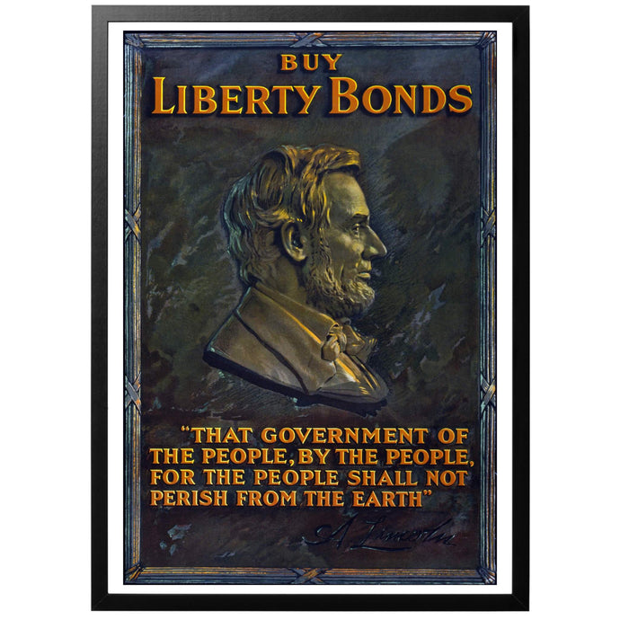 Buy Liberty Bonds Poster - World War Era