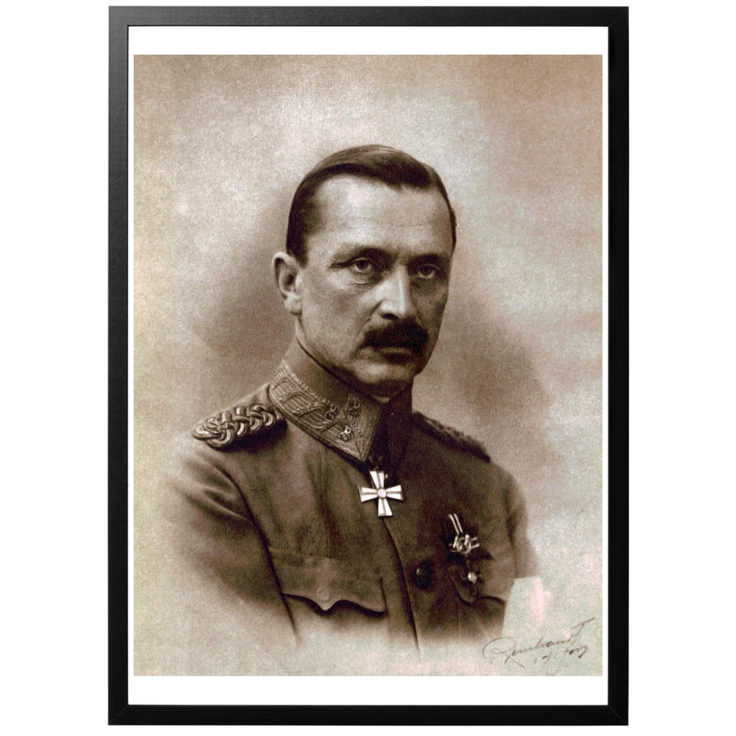 Carl Gustaf Emil Mannerheim Poster - World War Era