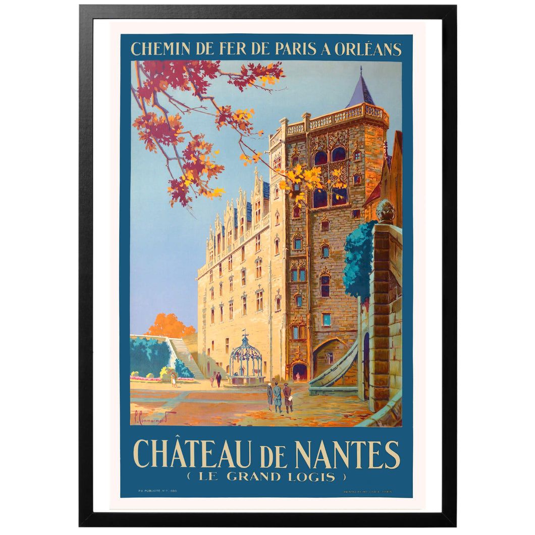 Nantes Castle Poster - World War Era