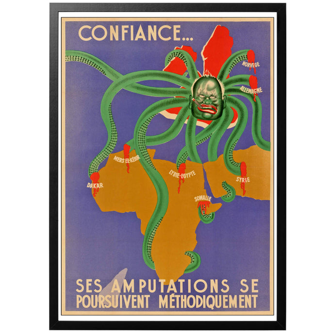 Be reassured, the amputations are proceeding methodicall Poster - World War Era