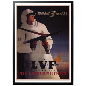 During 3 Winters - LVF Poster - World War Era