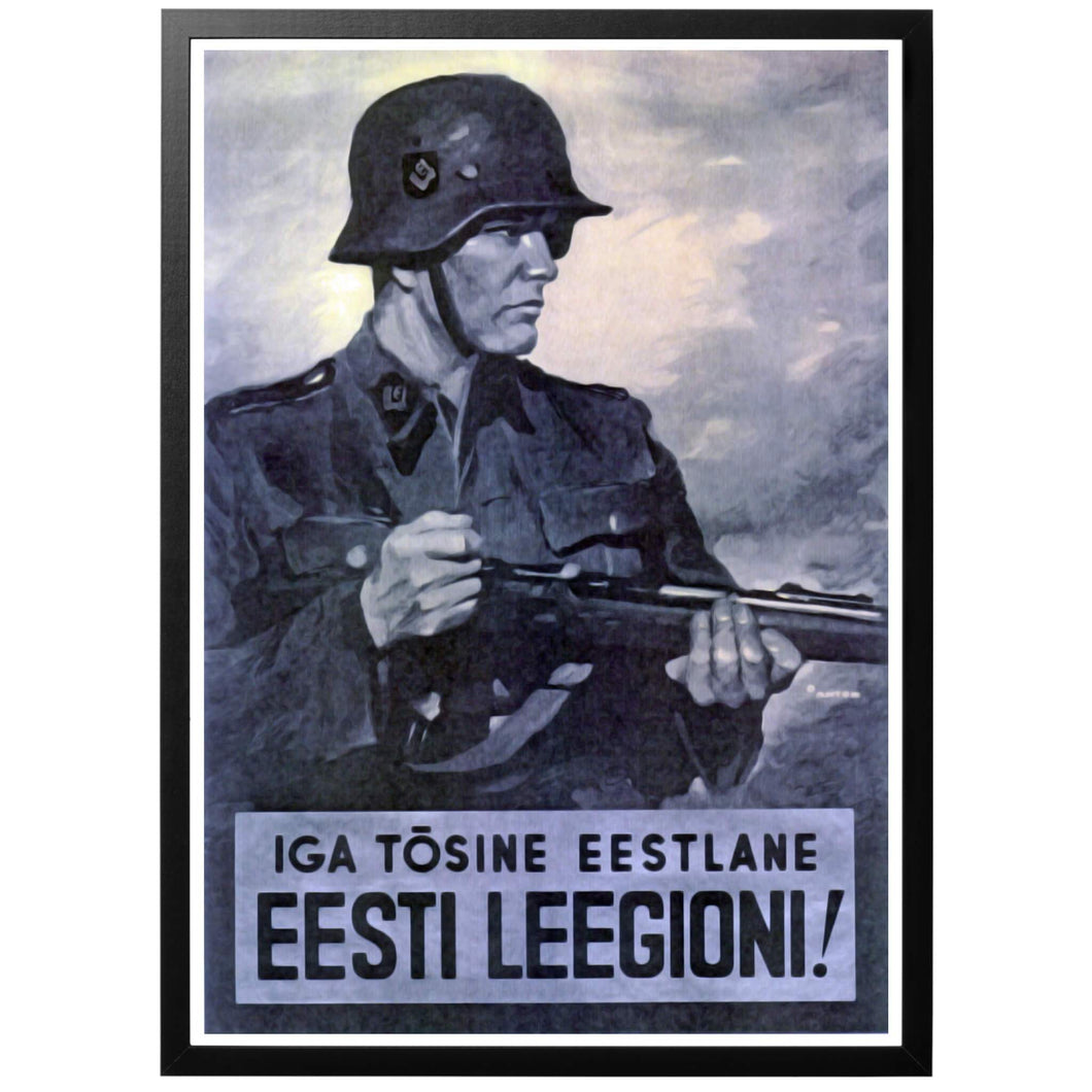 Eesti Leegioni Poster - World War Era