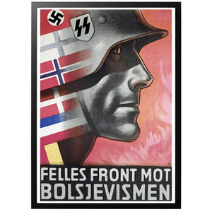 A common/united front against bolshevism Poster - World War Era