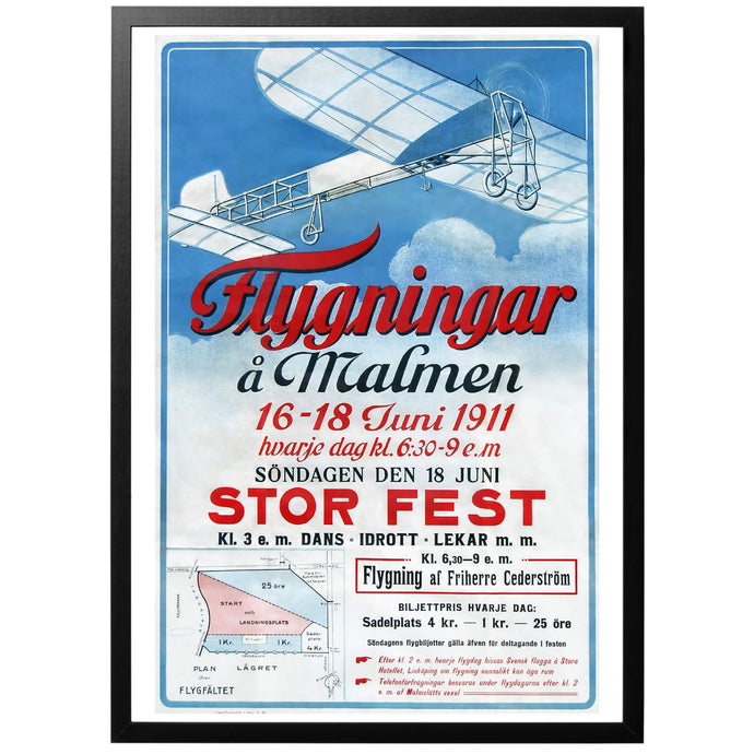Flight on Malmen Poster - World War Era