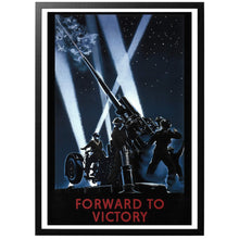 Load image into Gallery viewer, Forward To Victory Poster - World War Era