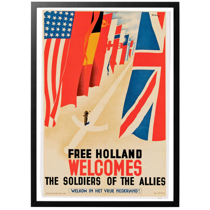 Free Holland Poster - World War Era