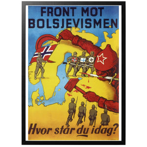 Front mot Bolsjevismen Poster - World War Era