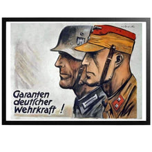Load image into Gallery viewer, Garanten deutscher wehrkraft! Poster