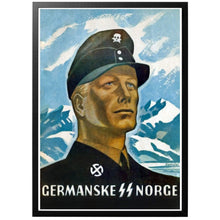 Load image into Gallery viewer, Germanske SS Norge Poster