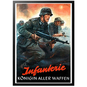 Infanterie - Königin Aller Waffen Poster - World War Era