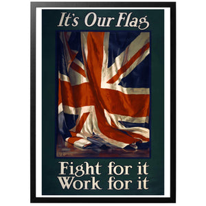 It's Our Flag Poster - World War Era