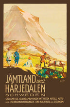 Load image into Gallery viewer, Jämtland und Härjedalen Poster - World War Era