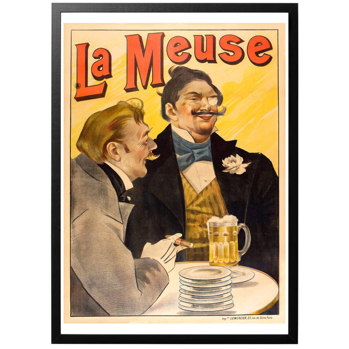 La Meuse Poster - World War Era