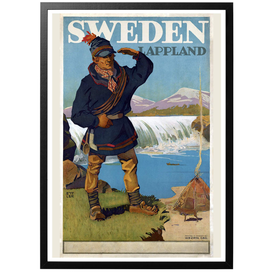 Lappland Poster - World War Era