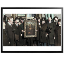 Load image into Gallery viewer, Mona Lisa Colourized vintage photography with frame