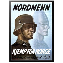 Load image into Gallery viewer, Nordmenn Kjemp for Norge Poster - World War Era