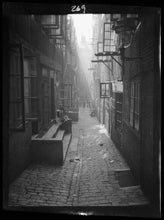 Load image into Gallery viewer, Light in the Alley Poster - World War Era
