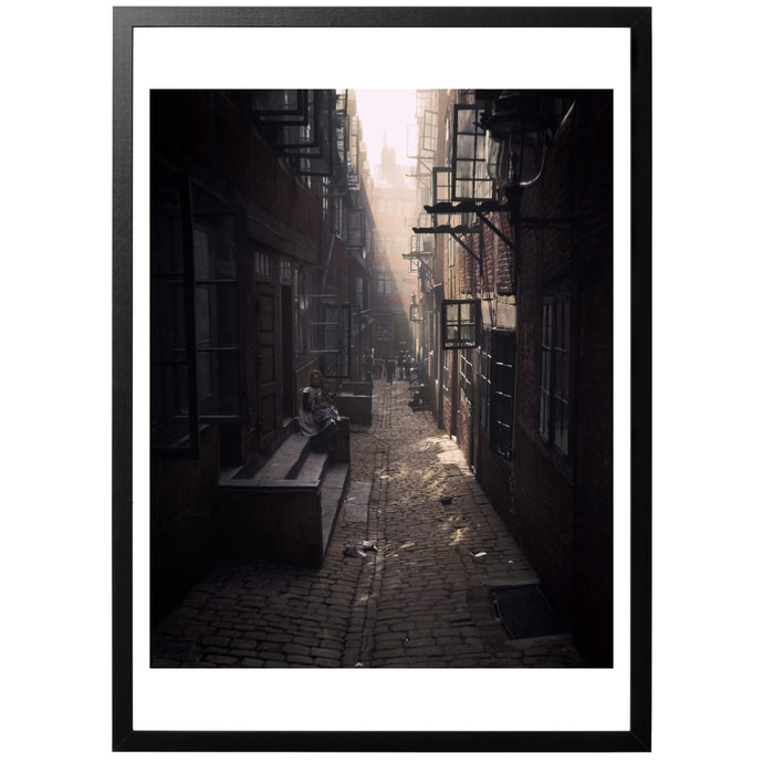 Light in the Alley Poster - World War Era