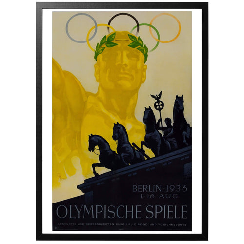 Olympic Games Germany 1936 Poster - World War Era
