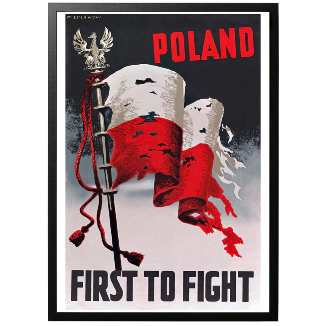 Poland First to Fight Poster