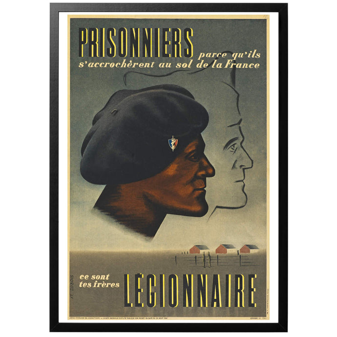 Prisonniers Poster - World War Era