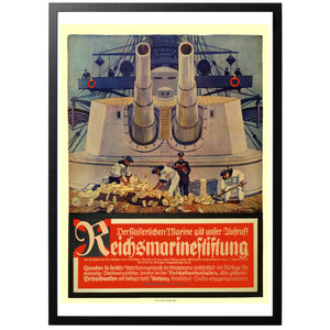 Reichsmarinestiftung Poster - World War Era