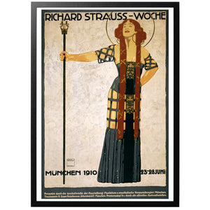 Richard Strauss Woche Poster - World War Era